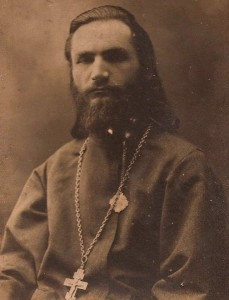 Священник Л.Дмитриевский. Фото 1910-х гг