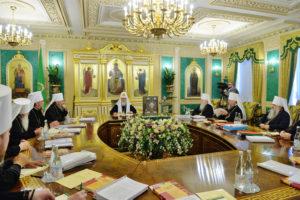 Заседание Священного Синода. причислены к лику святых священномученики Александр Флегинский и Михаил Лисицын